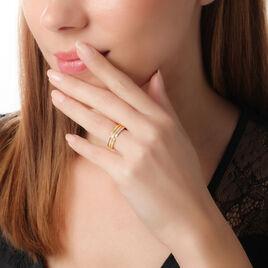 Bague Or Jaune Diamant - Bagues avec pierre Femme | Histoire d'Or