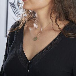 Collier Astro Plaque Or - Bijoux Femme | Histoire d'Or