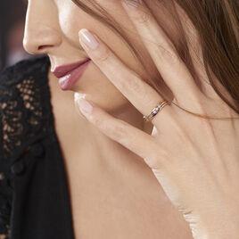 Bague Troyen Or Tricolore Diamant - Bagues avec pierre Femme | Histoire d'Or