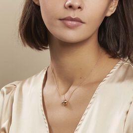 Collier Marcelina Plaque Or Jaune - Colliers fantaisie Femme | Histoire d'Or