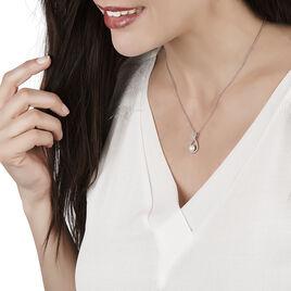 Collier Rozane Argent Blanc Perle De Culture Et Oxyde De Zirconium - Colliers fantaisie Femme | Histoire d'Or