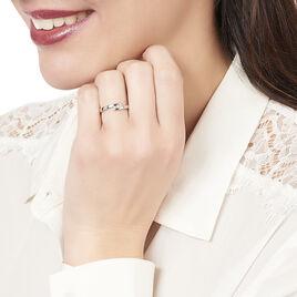 Bague Galya Or Blanc Diamant - Bagues avec pierre Femme | Histoire d'Or