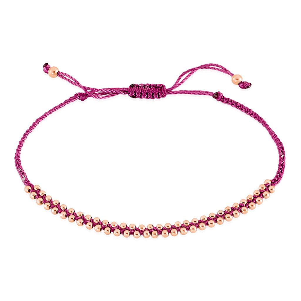 Bracelet Argent Blanc - Bracelets cordon Femme | Histoire d'Or