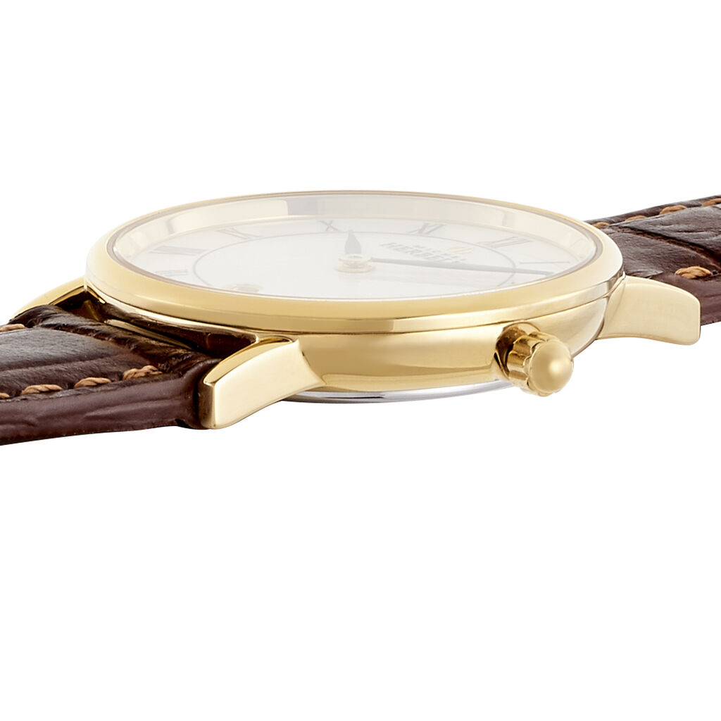 Montre Michel Herbelin Classique Blanc - Montres classiques Femme   Histoire d'Or