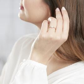 Bague Dream Or Rose Diamant - Bagues solitaires Femme   Histoire d'Or