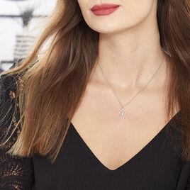 Collier Souadou Argent Blanc - Colliers fantaisie Femme | Histoire d'Or