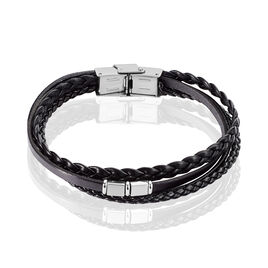 Bracelet Romain Acier Blanc - Bracelets fantaisie Homme | Histoire d'Or