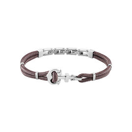 Bracelet Acier Sephora Ancre Cordon - Bijoux Ancre Homme | Histoire d'Or