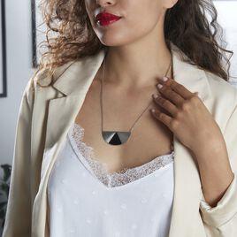 Collier Acier Blanc Sunshine - Colliers fantaisie Femme   Histoire d'Or