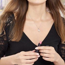 Collier Argent Perle Oxydes De Zirconium - Colliers fantaisie Femme | Histoire d'Or