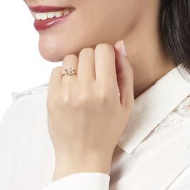 Bague Lael Or Jaune Diamant - Bagues avec pierre Femme | Histoire d'Or