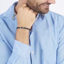 Bracelet Fanny-laure Acier Blanc Diamant - Bracelets fantaisie Homme | Histoire d'Or