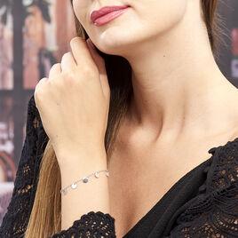 Bracelet Ragavi Argent Blanc - Bracelets fantaisie Femme | Histoire d'Or