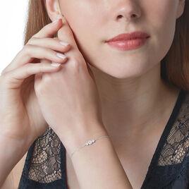 Bracelet Automne Or Blanc Diamant - Bijoux Femme   Histoire d'Or
