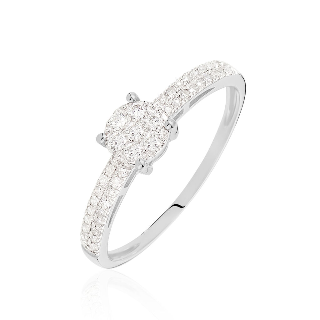 Ultra Bague Julia Or Blanc Diamant - B3DFBDW409H • Histoire d'Or VY-85