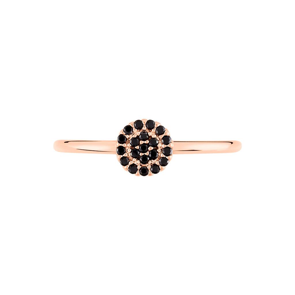 Bague Fares Argent Rose Spinelle - Bagues avec pierre Femme | Histoire d'Or