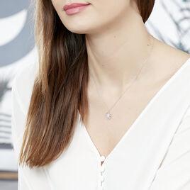 Collier Or Blanc Roanna Etoile Diamant - Colliers Etoile Femme | Histoire d'Or