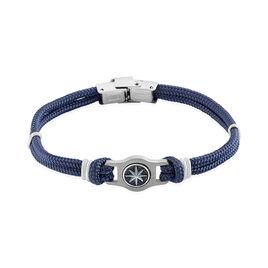 Bracelet Acier Paulette Cordon - Bracelets cordon Homme | Histoire d'Or