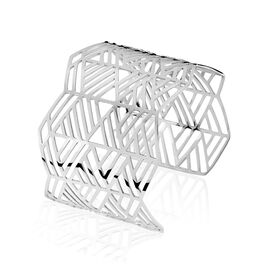 Manchette Acier Motif Geometrique - Bracelets fantaisie Femme | Histoire d'Or