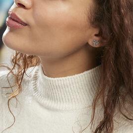 Boucles D'oreilles Argent Arbre De Vie - Boucles d'Oreilles Arbre de vie Femme | Histoire d'Or