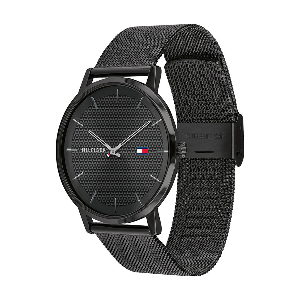 Montre Tommy Hilfiger James Noir