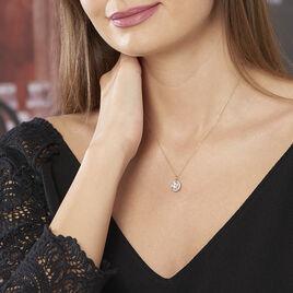 Collier Adil Or Jaune Oxyde De Zirconium - Bijoux Femme | Histoire d'Or