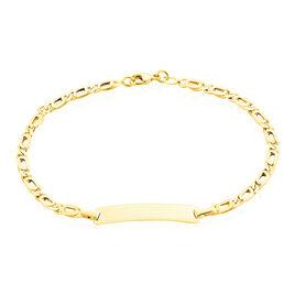 Bracelet Identite Bebe Or Jaune Evi - Bracelets Communion Enfant | Histoire d'Or