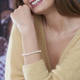 Bracelet Akoya Or Jaune Perle De Culture D'akoya - Bijoux Femme | Histoire d'Or
