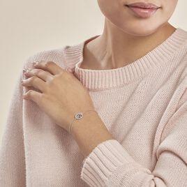 Bracelet Chimere Argent Blanc Oxyde De Zirconium - Bracelets Arbre de vie Femme | Histoire d'Or