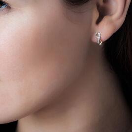 Boucles D'oreilles Puces Chacha Or Jaune - Boucles d'Oreilles Infini Femme | Histoire d'Or