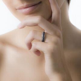 Bague Oceane Or Blanc Saphir Et Diamant - Bagues avec pierre Femme   Histoire d'Or