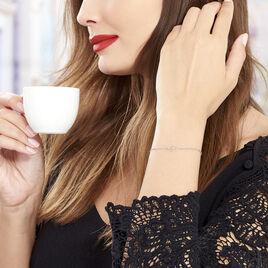 Bracelet Souadou Argent Blanc - Bracelets fantaisie Femme | Histoire d'Or