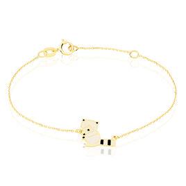 Bracelet Orelia Origami Or Jaune - Bracelets Naissance Enfant | Histoire d'Or