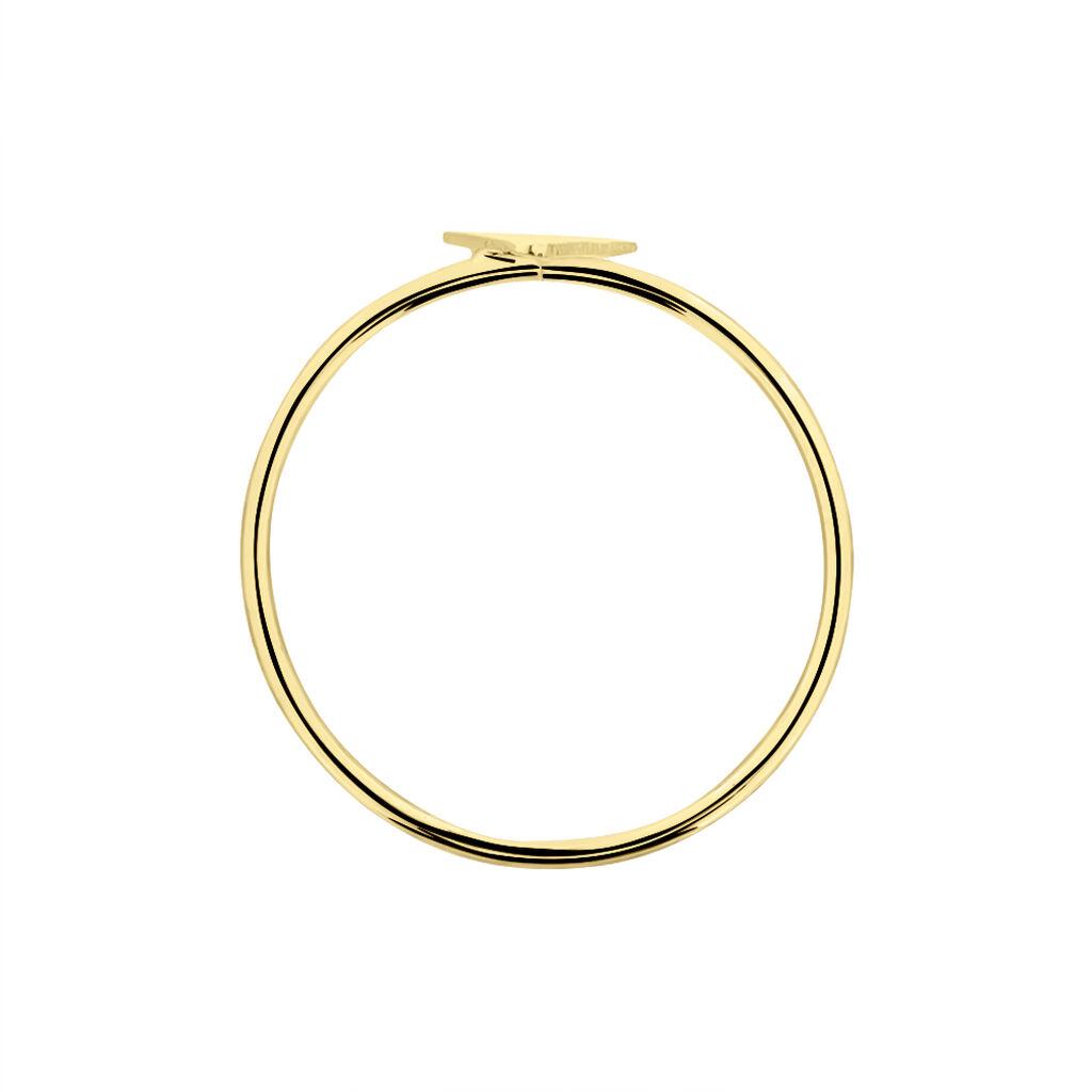 Bague Line Or Jaune - Bagues Femme   Histoire d'Or