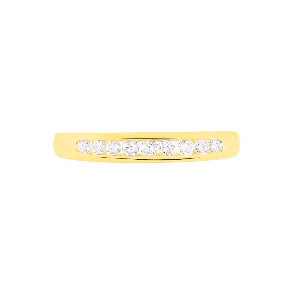 Alliance Giulia Or Jaune Diamant - Alliances Femme | Histoire d'Or