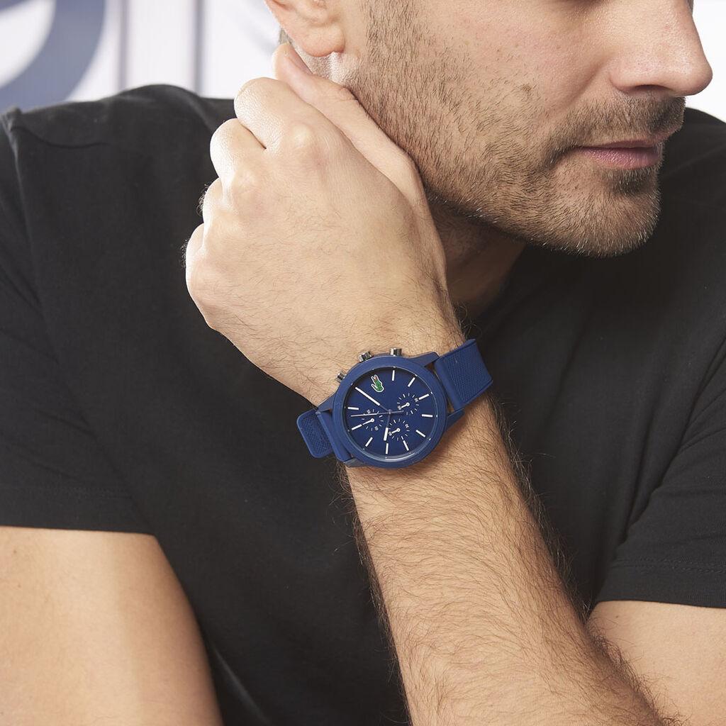 Montre Lacoste 12.12 Bleu - Montres Homme   Histoire d'Or