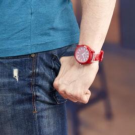 Montre Armani Exchange Drexler Rouge - Montres tendances Homme | Histoire d'Or