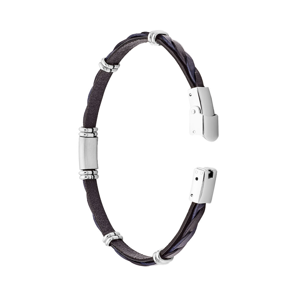 Bracelet Pacome Acier Blanc - Bracelets fantaisie Homme | Histoire d'Or