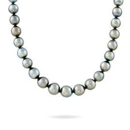 Collier Cerclee Or Jaune Perle De Culture De Tahiti - Bijoux Femme   Histoire d'Or