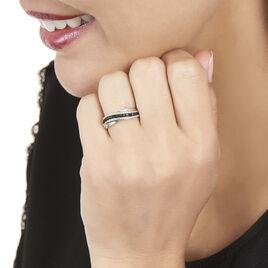 Bague Calliste Or Blanc Diamant - Bagues avec pierre Femme   Histoire d'Or