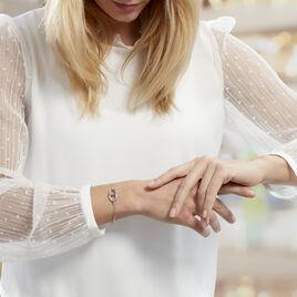 Bracelet Abdon Argent Blanc - Bracelets fantaisie Femme | Histoire d'Or
