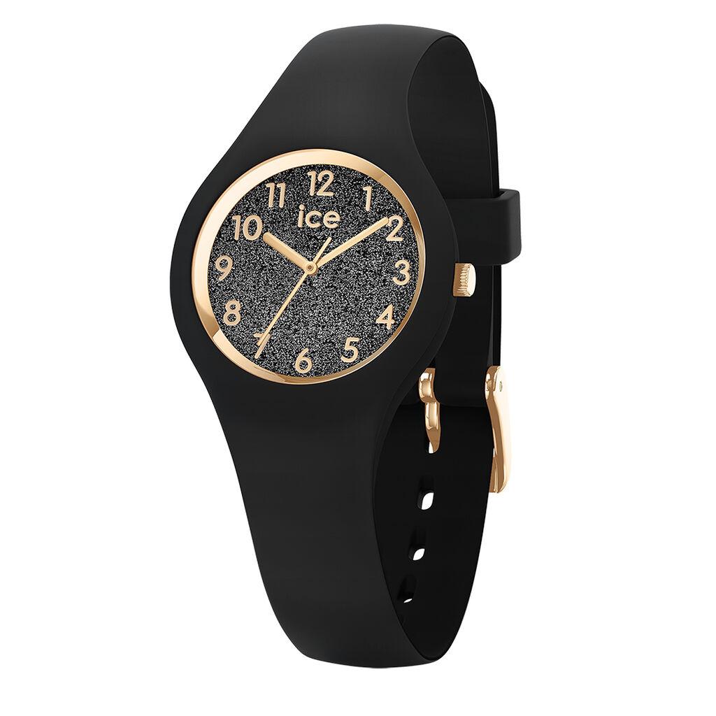 Montre Ice Watch Glitter Noir - Montres classiques Famille | Histoire d'Or