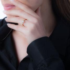 Solitaire Or Rose Grace Et Diamant - Bagues avec pierre Femme   Histoire d'Or