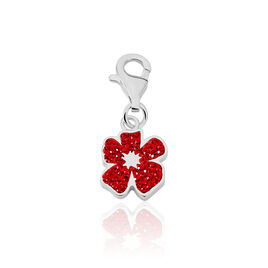 Charms Gisele Argent Blanc Strass - Charms Femme | Histoire d'Or
