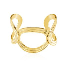Bracelet Jonc Agostino Acier Jaune - Bracelets fantaisie Femme | Histoire d'Or