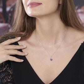 Collier Anais Or Blanc Perle De Culture Et Oxyde De Zirconium - Bijoux Femme   Histoire d'Or