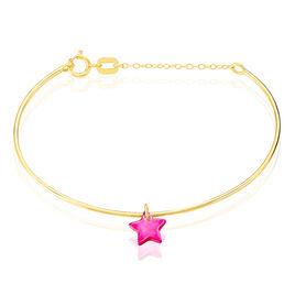 Bracelet Jonc Ida Etoile Or Jaune - Bracelets Naissance Enfant | Histoire d'Or