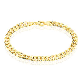 Bracelet Iris Maille Gourmette Or Jaune - Bracelets chaîne Femme | Histoire d'Or