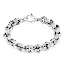 Bracelet Carola Maille Jaseron Argent Blanc - Bracelets chaîne Femme   Histoire d'Or