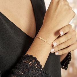 Bracelet Or Jaune Xaverianne Oxyde - Bijoux Femme | Histoire d'Or